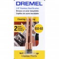 Dremel Stainless Steel Brush 3.2mm. #532 (2 pac )