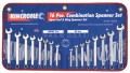 Combination Spanner Set 16pce AF & Metric #1352416