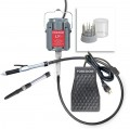 Foredom Deluxe Stone Setting Kit, 2 Handpieces