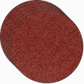 Sanding disc, corundum, 80grit, 250mm diameter, 5 pcs