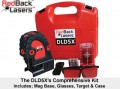 RedBack DLD5X - Auto Levelling Line & Dot Laser. Horizontal, Vertical, Plumb