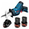 Bosch 10.8v Cordless Reciprocating Saw Set GSA 10.8V-LI