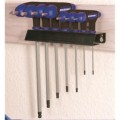Kincrome T-handle Hex Key Wrench Set 7 Piece Metric