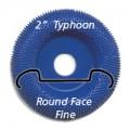 "2"" Typhoon Disc, Round Face, Fine"