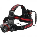 Recharegeable Pure Beam Focusing LED Headlamp - 800 Lumens Li-ion Pack & 4 x AA
