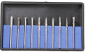 10 piece Carbide Burr set