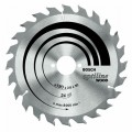 Bosch Tungsten Carbide Circular Saw Blade Optiline Wood 184mm x 20tooth + 40 tooth twin pac