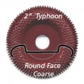 "2"" Typhoon Disc, Round Face, Coarse"