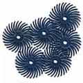 """Radial Bristle Discs, 400 Grit, Blue, 3/4"""", 6-Pk"""