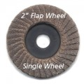"2"" Flap Sanding Wheels available grits, 60, 120, 240, 320 and 600 (Per Disc)"