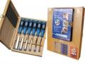 6 pce Firmer Chisel set 1108-HK + DVD