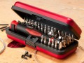 36-piece tool kit for fretted instruments