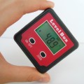 Precision Digital Bevel Angle Protractor Inclinometer Level Box Bevel Box with Magnet Base