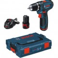 Bosch 10.8v Cordless Drill Driver Set GSR 10.8-2-LI