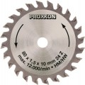 Saw blade, tungsten carbide tipped, 24 teeth, 80mm