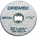 "EZ456 EZ Lock 1-1/2"" Cut-off Wheels (5 Pack)"