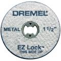 """EZ456 EZ Lock 1-1/2"""" Cut-off Wheels (5 Pack)"""