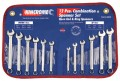 Kincrome Combination Spanner Set 12pce AF & Metric #K3020