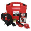 RedBack Lasers DL3 Self-Leveling Multi Cross Line Laser Level with Plumb