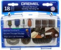 Dremel Sanding and Grinding Set 18 piece EZ Lock  EZ686-01