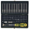 "Super safety and specialty bit set, 1/4"" drive (6.3mm). 75-piece"