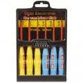 6 Piece Insulated Electronic Screwdriver Set