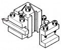 Lathe PD 400 option, quick-change tool post and tool holders
